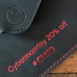 germanmade. antwortet auf den Black Friday: 20% Rabatt auf alles am Cyber Monday!