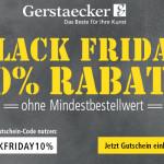 Künstler und Kreative aufgepasst: 10% Rabatt auf Alles ohne Mindestbestellwert bei Gerstaecker!