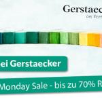 Erhalte jetzt bis zu 70% Rabatt beim Cyber Monday Sale von Gerstaecker.