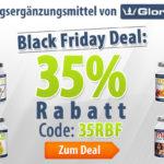 Exklusiver 35% Rabatt Gutschein auf Nahrungsergänzungsmittel von GloryFeel
