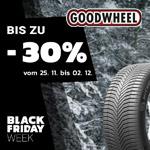 Goodwheel Black Friday Week – Bis zu 30% Rabatt im Black Sale