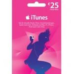 25 Euro Apple iTunes Karte für 20 Euro