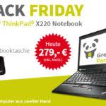 Jetzt zuschlagen: Lenovo Thinkpad X220 für nur 279€ bei GreenPanda.de