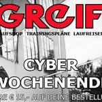 Großes Cyber Wochenende bei Greif Sport – Spare 15 EURO auf deine Bestellung!