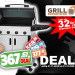 Sicher dir jetzt den CADAC Entertainer Supreme Grill mit über 30% Rabatt bei Grill-Experte.de