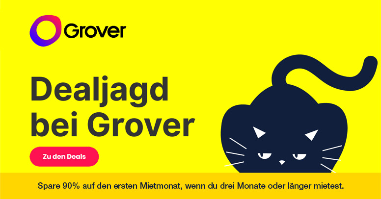 Grover Black Friday 2019