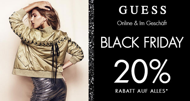 GUESS Black Friday 2017