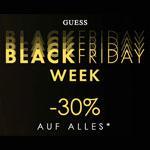 Black Friday Week bei Guess mit 30% Rabatt auf alles