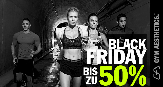 Gym Aesthetics Black Friday 2018