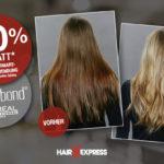 50% Rabatt auf deine Smartbond Anwendung bei HairExpress!