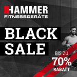 Black Sale bei Hammer – Sicher dir dein neues Fitnessgerät mit bis zu 70% Rabatt