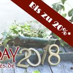 Bis zu 20% Rabatt auf handgefertigte Garten- und Wohndekoration
