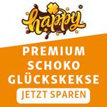 Happykeks – Der Premium Schoko Glückskeks jetzt 20% günstiger