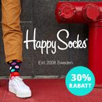 Sicher dir jetzt die buntesten Rabatte auf deine neuen HappySocks und spare 30%