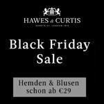 Großer Sale bei Hawes & Curtis, sicher dir jetzt Hemden und Blusen schon ab 29,- EURO