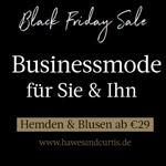 Black Friday Sale bei Hawes & Curtis – Businessmode für Sie und Ihn ab 29 EURO