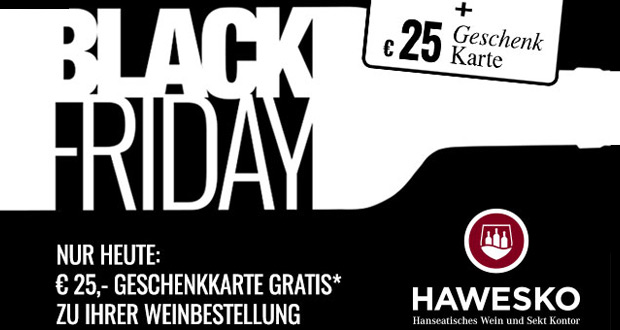 Hawesko Black Friday 2018