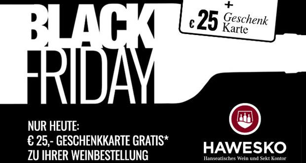 Hawesko Black Friday 2018