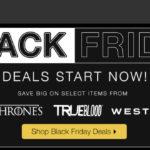 Bis zu 40% Rabatt auf ausgewählte Merchandise Artikel im HBO Shop
