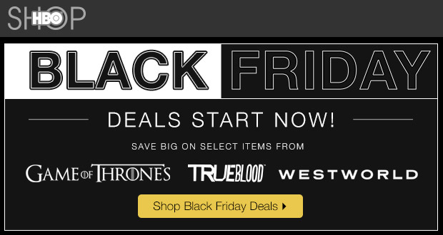 HBO Black Friday 2017