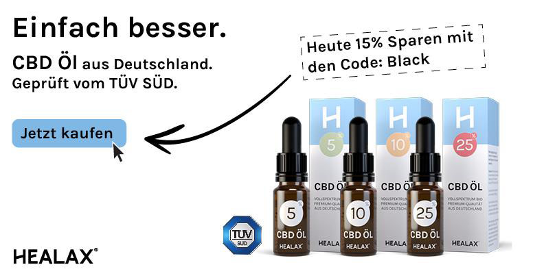 Healax CBD Black Friday 2020