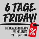 BLACKFRIDEALS bei Hellweg – 6 Tage tolle Angebote