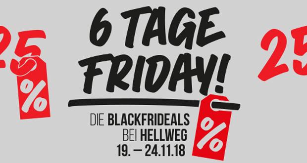 Hellweg Black Friday 2018