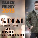 Noch bis Sonntag: 20% Rabatt auf Winterjacken und Mäntel im Herrenmode-Salon!