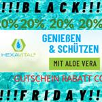 Genießen & schützen – 20% auf Aloe Vera Saft von Hexavital