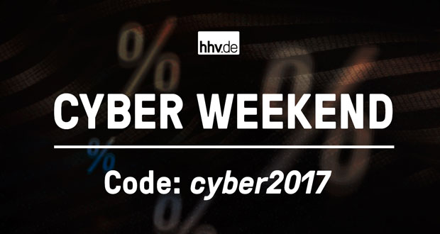 hhv.de Cyber Weekend 2017