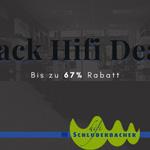 Black Hifi Deals bei Hifi Schluderbacher mit über 60% Rabatt