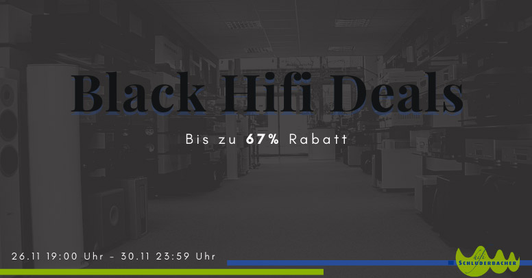 HiFi Schluderbacher Black Friday 2020