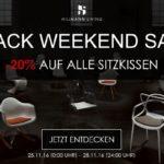 Sicher dir das ganze Wochenende 20% Rabatt auf alle Sitzkissen von Hillmann Living