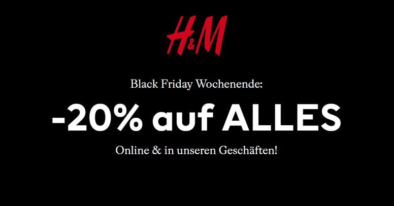 H&M Black Friday 2019