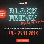 Black Friday Weekend Special bei home24 mit bis zu 18% Preisnachlass