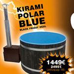 Badefreunde aufgepasst: Kunststoff Badefass von Kirami ab 1.449 EURO auf Hot-Pott.com