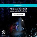 Black Weeks im HP Store mit attraktiven Rabatten auf ausgewählte Produkte