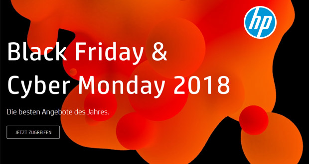 HP Black Friday Cyber Monday 2018
