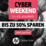 Jetzt zugreifen: Bis zu 50% Rabatt beim Cyber Weekend im Online-Store von HP