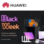 Huawei Black Week: Spare jetzt bis zu 55% auf Smartphones, Tablets & Co.