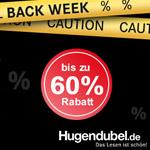 Black Week bei Hugendubel.de – Spare bis zu 60% und sicher dir weitere tolle Preisknüller!