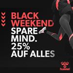 hummel® BLACK WEEKEND – Spare mindestens 25% auf alles!