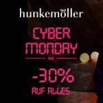 Cyber Monday bei Hunkemöller – Nur heute 30% Rabatt auf ALLES!