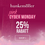 Pink Monday bei Hunkemöller: 25% Rabatt auf das komplette Sortiment