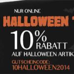 -10 % Rabatt auf Artikel der Halloween-Kollektion im Hunkemöller Online Shop