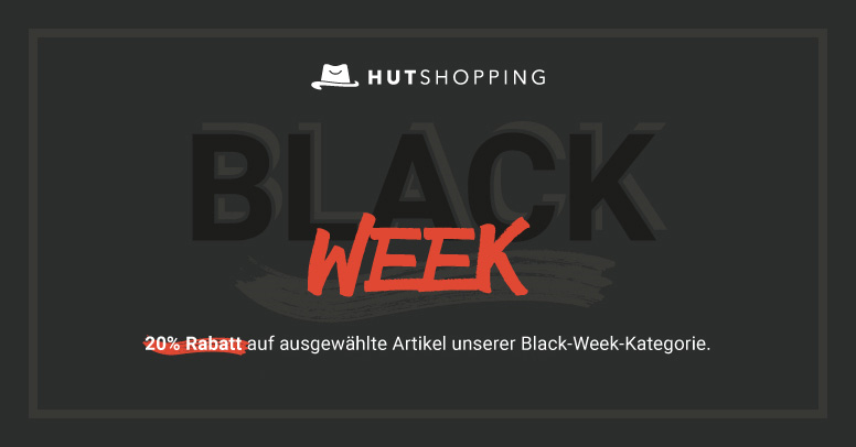 Hutshopping Black Friday 2019