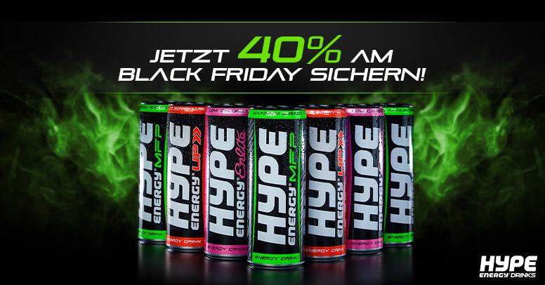 Hype Energy Drinks Black Friday-2019
