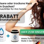 15% Rabatt + Gratis-Kartusche im Wert von 16,90 € beim Kauf des Wasserfilters Hzwo Standard S