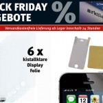 Erster Deal bereits online: iPhone 5 Schutzfolien für 6,95 Euro (statt 19,95 Euro)