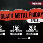 Black Metal Friday Deals bei Impericon – Shoppe jetzt dein Lieblingsmerch mit bis zu 30% Rabatt